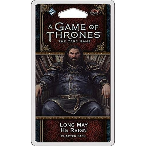 A Game of Thrones LCG 2nd Edition Long May He Reign Expansion