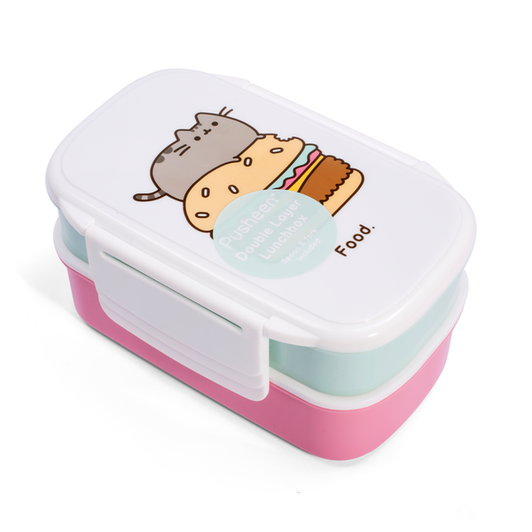 Thumbs Up Pusheen Lunch Box Set