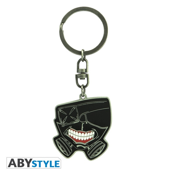 "Tokyo Ghoul - ""Mask"" Keychain"