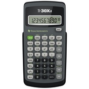 Texas Instruments 30XATBL6E3 TI30XA Basic Scientific Calculator with 10 Digit Display