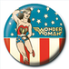 Wonder Woman - Stars and Stripes Badge - Image 2
