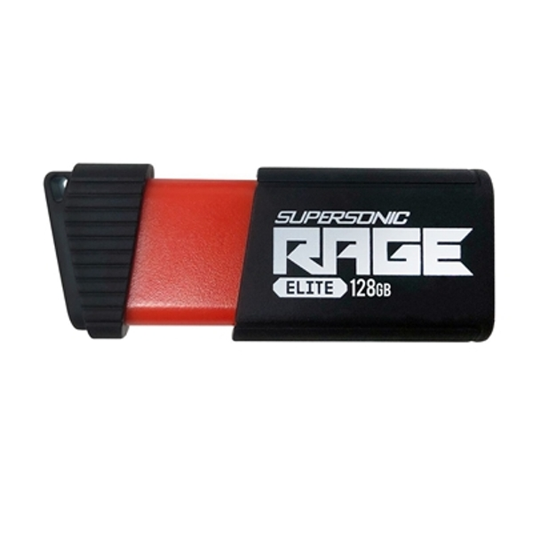 Patriot Supersonic Rage Elite 128GB USB 3.1 Blue USB Flash Drive