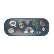 Sass & Belle Patches & Pins Glasses Case