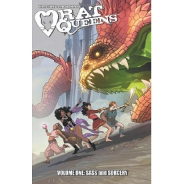 Rat Queens Volume 1: Sass & Sorcery TP - Image 1