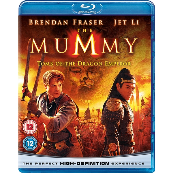 The Mummy: Tomb of the Dragon Emperor Blu-ray