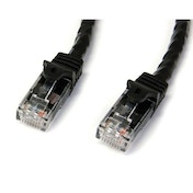 StarTech 5m Black Gigabit Snagless RJ45 UTP Cat6 Patch Cable 5 m Patch Cord