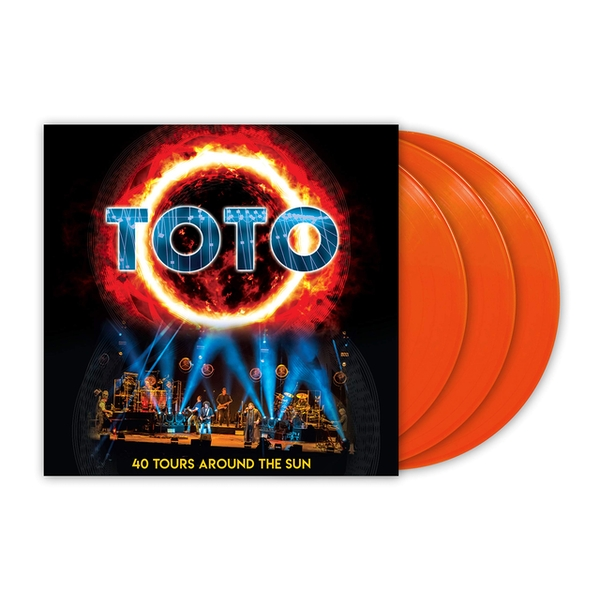 Toto - 40 Tours Around The Sun Vinyl