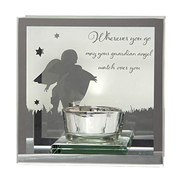Reflections Of The Heart Guardian Angel Tealight Holder
