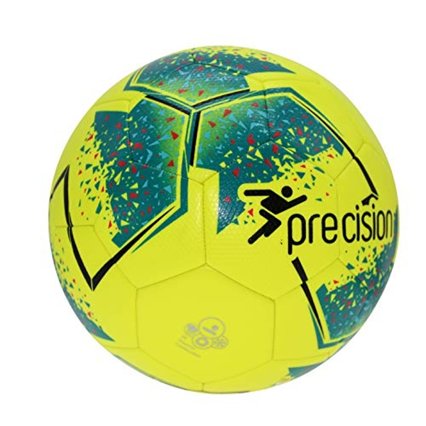 Precision Fusion IMS Training Ball 3 Fluo Yellow/Teal/Cyan/Red