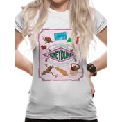 Harry Potter - Honeydukes Women's X-Large T-Shirt - White