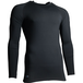 Precision Essential Base-Layer Long Sleeve Shirt Adult Black - Medium 38-40 Inch - Image 2