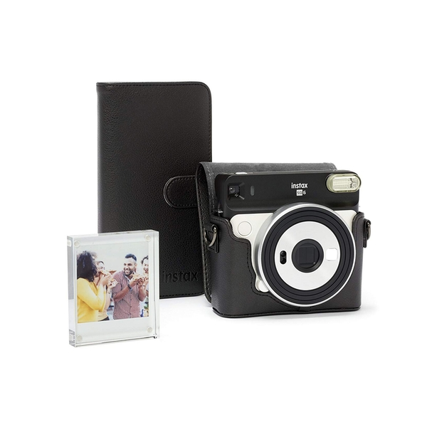 Image of Fujifilm Instax SQ6 Accessory Kit - Case, Album & Photo Frame - Black