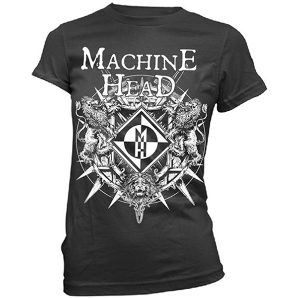 Machine Head - Bloodstone Ladies Medium T-Shirt - Black