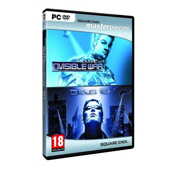 Deus Ex & Deus Ex Invisible War Double Pack Game PC