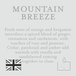 Mountain Breeze (Superstars Collection) Tin Candle - Image 3