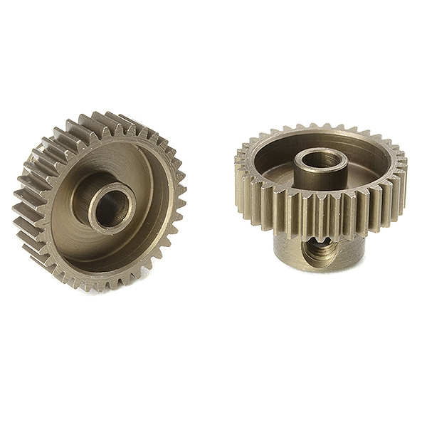Corally 64 Dp Pinion Short Hardened Steel 35 Teeth Shaft Dia. 3.17Mm