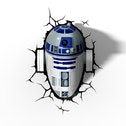 Star Wars 3D Deco Wall Light - R2D2