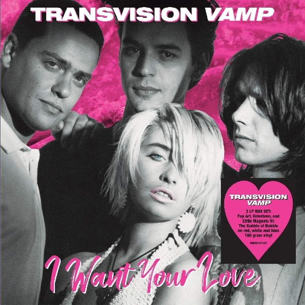 Transvision Vamp - I Want Your Love Coloured  Vinyl