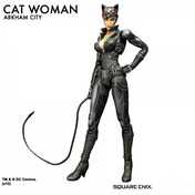 DC Batman Arkham City Catwoman Play Arts KAI Action Figure