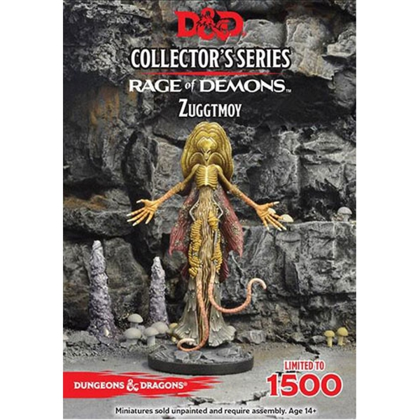 Dungeons & Dragons Collector's Series Out of the Abyss Miniature Demon Lord Zuggtmoy