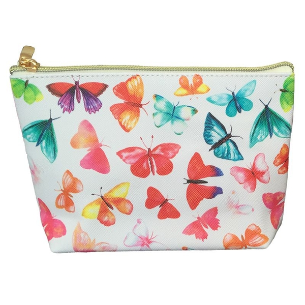 Butterfly House Small PVC Wash Bag