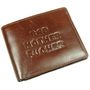 Ex-Display Brown Bad Mutha Wallet Used - Like New