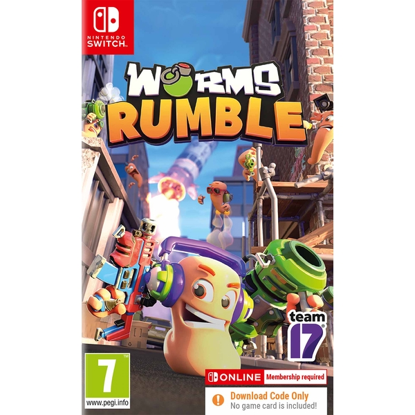 Worms Rumble Nintendo Switch Game [Code in a Box]