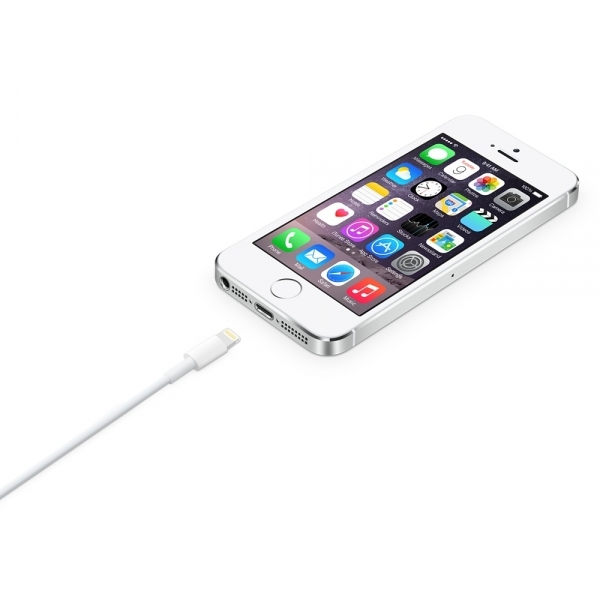Apple Charger 2m Lightning to USB Cable MD819  - Image 2
