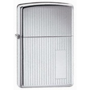 Zippo Engine Turned High Polish Chrome Windproof Lighter