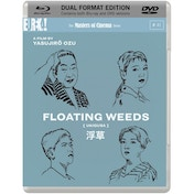 FLOATING WEEDS DVD + Blu-ray