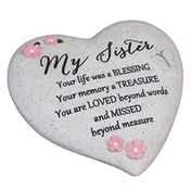 Thoughts Of You 'Sister' Graveside Heart
