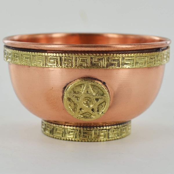 Pentagram Copper Bowl (Small)