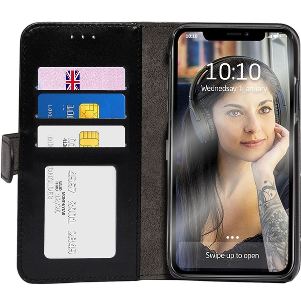 Groov-e GVMP064 Folio Wallet Case for iPhone XS Max - Black
