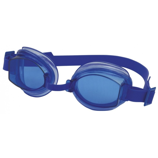 SwimTech Aqua Adult Goggles Blue [Damaged Packaging]
