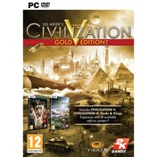 Sid Meier's Civilization V 5 Gold Edition Game PC