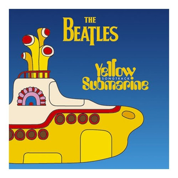 The Beatles - Yellow Submarine Songtrack Greetings Card