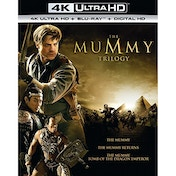 The Mummy Trilogy 4K UHD + Blu-ray + Digital HD