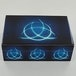 Celtic Triquetra Blue Fire Box Wooden Storage Box - Image 3