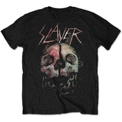 Slayer - Cleaved Skull Men's Large T-Shirt - Black