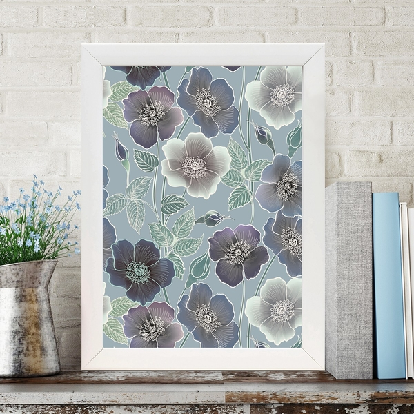 BC342620009 Multicolor Decorative Framed MDF Painting