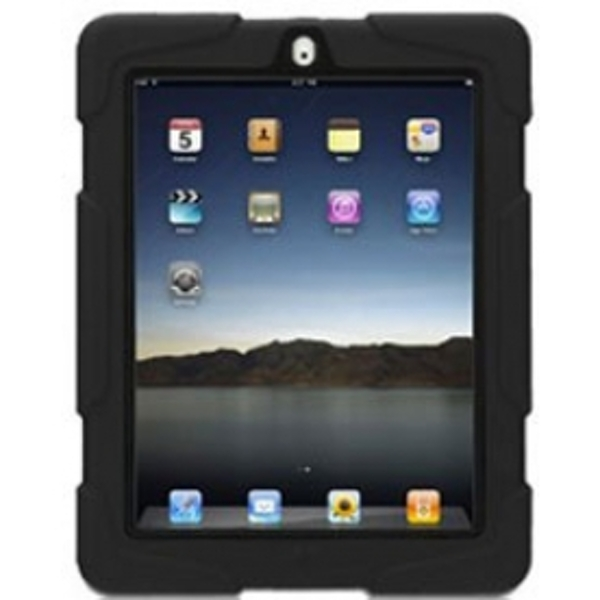 Griffin iPad 2-4 Survivor Military Duty Case with Stand (Black)