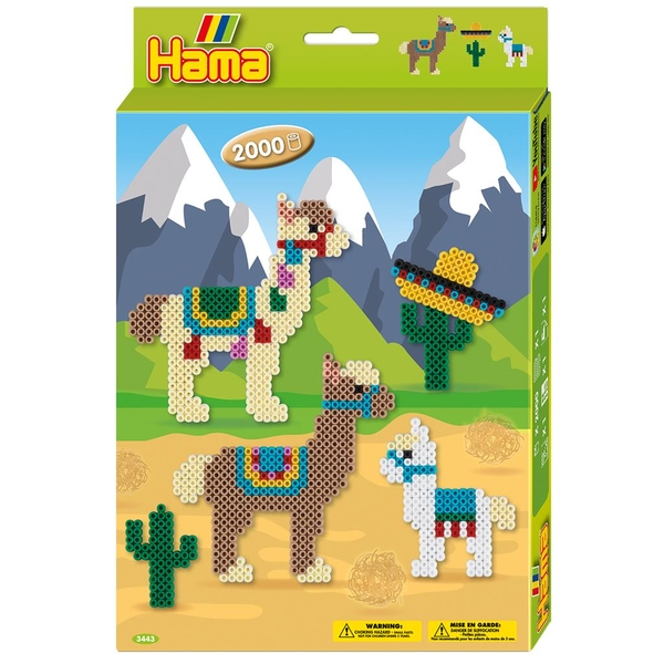Hama - Alpacas Hanging Box Activity Set