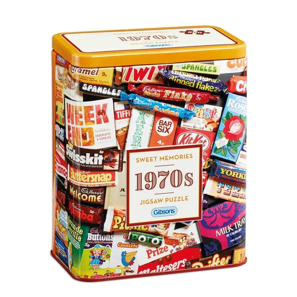 Gibsons 1970's Sweet Memories Jigsaw Puzzle - 500 Pieces
