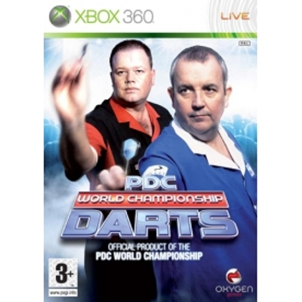 PDC World Championship Darts 2008 Game Xbox 360