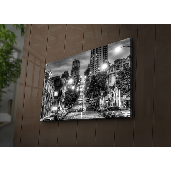 4570?ACT-57 Multicolor Decorative Led Lighted Canvas Painting