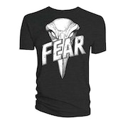 Judge Dredd & 2000 AD - Judge Dredd Judge Fear Giant Badge Men's Medium T-Shirt - Black