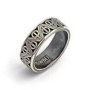 Stainless Steel Deathly Hallows Ring- Large