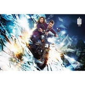 Doctor Who - Motorcycle Maxi Poster