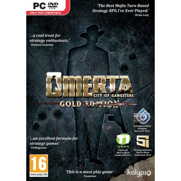 Omerta City of Gangsters Gold Edition PC Game