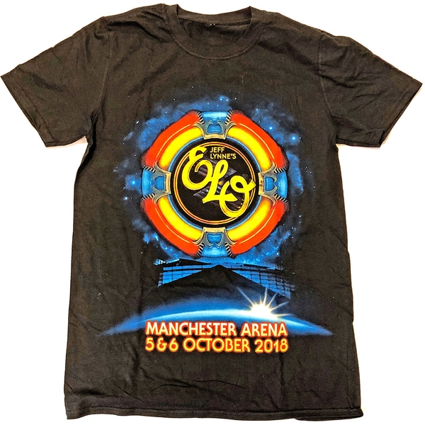 ELO - Manchester Event  Men's X-Large T-Shirt - Black